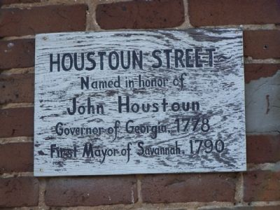 Houstoun and York Streets Marker image. Click for full size.