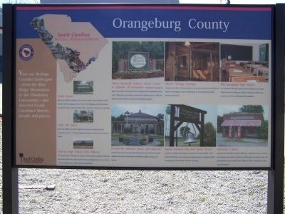 Orangeburg County Marker image. Click for full size.