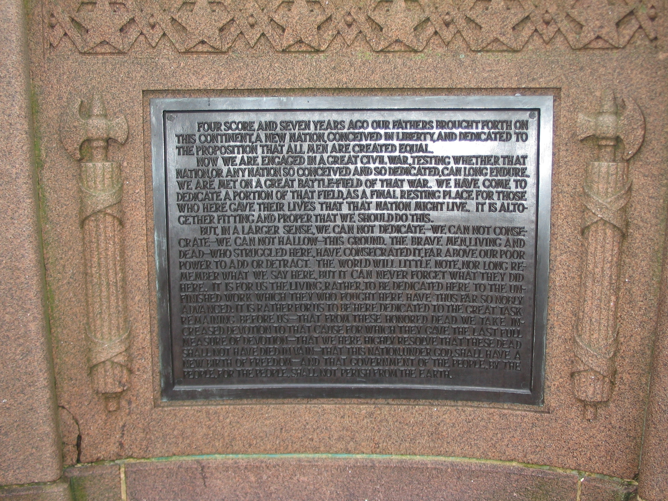 Right Side Plaque