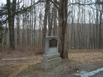 Marker in Delaware Water Gap NRA image. Click for full size.