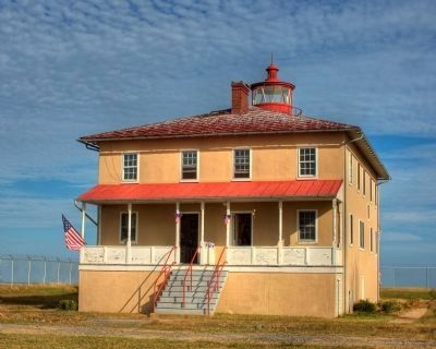 Point Lookout Lighthouse image. Click for full size.