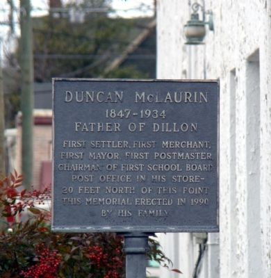 Duncan McLaurin Marker image. Click for full size.