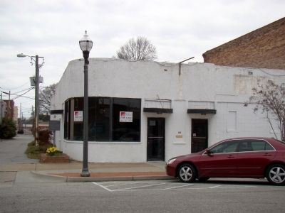 Site of Duncan McLaurin's Store image. Click for full size.