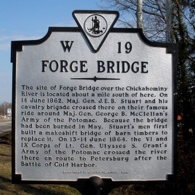 Forge Bridge Marker image. Click for full size.