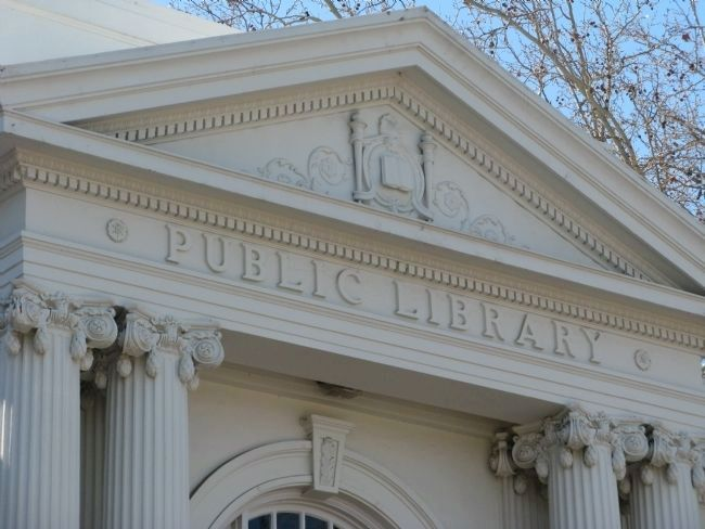 The Andrew Carnegie Public Library image. Click for full size.
