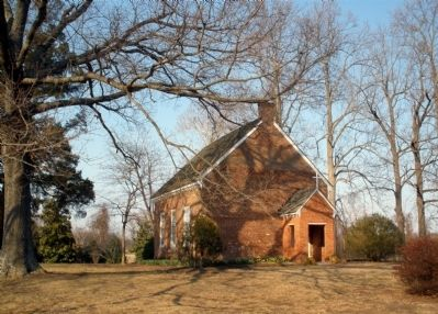 Hickory Neck Church image. Click for full size.