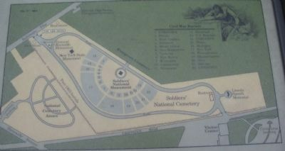 Close Up of Cemetery Map image. Click for full size.