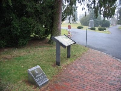 Marker at the North Entrance image. Click for full size.