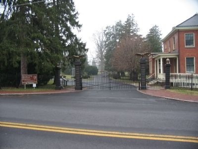 North Entrance to the Cemetery image. Click for full size.
