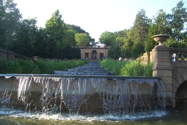 The Meridian Hill Park Waterfall