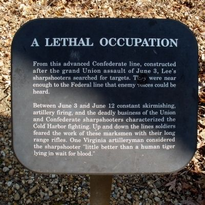 A Lethal Occupation Marker image. Click for full size.
