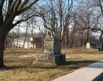 136th New York Infantry Monument image. Click for full size.