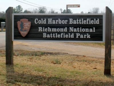 Cold Harbor Battlefield image. Click for full size.