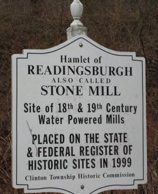 Hamlet of Readingsburg Marker image. Click for full size.