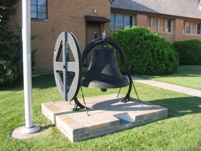 Deer Creek Lutheran Church Bell and Marker image. Click for full size.