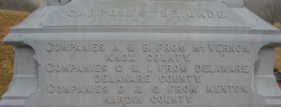 Left Base of Monument image. Click for full size.