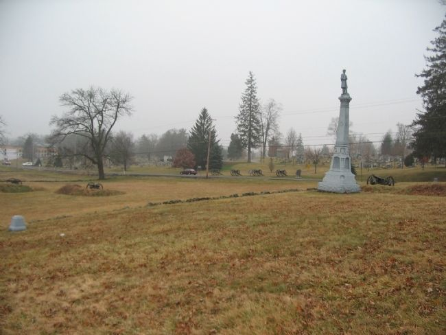 4th Ohio Infantry Position image. Click for full size.