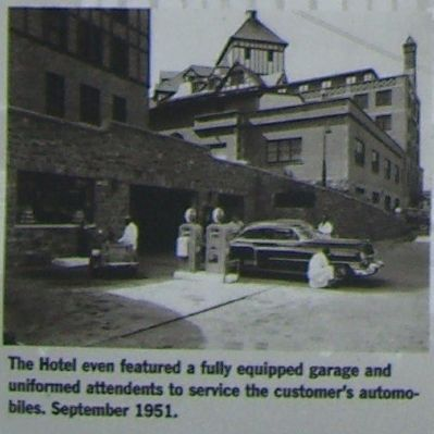 Hotel Roanoke Marker image. Click for full size.