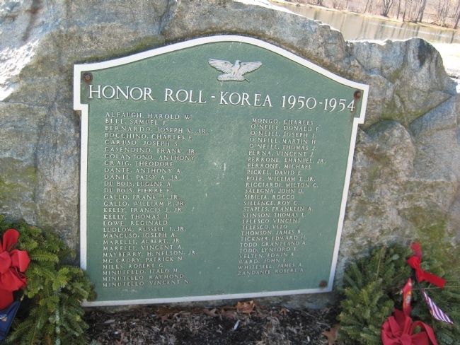 Peapack- Gladstone Liberty Park - Korean War Marker image. Click for full size.