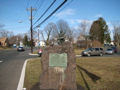 Memorial to the Naraticong Indians image. Click for full size.