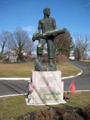 John Basilone Monument image. Click for full size.