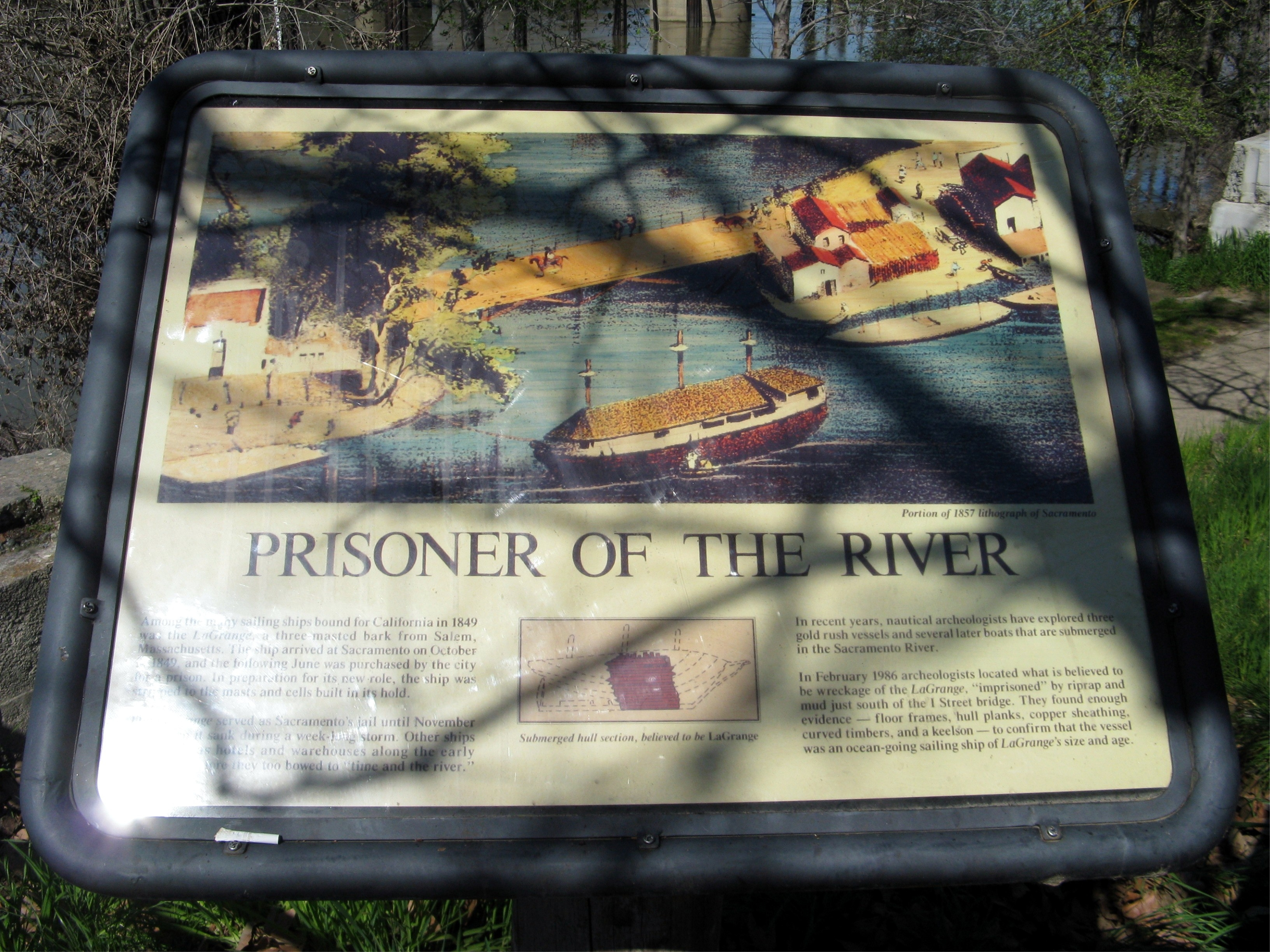 Prisoner of the River Marker