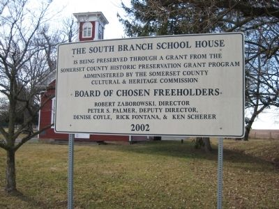 South Branch School Preservation image. Click for full size.