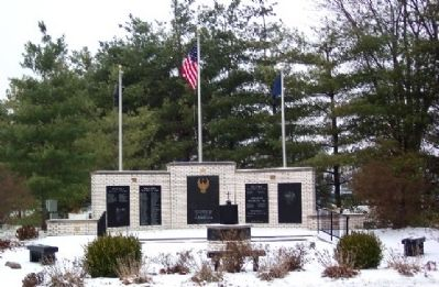 Adams County Veterans Memorial image. Click for full size.