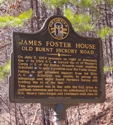 James Foster House Marker image. Click for full size.