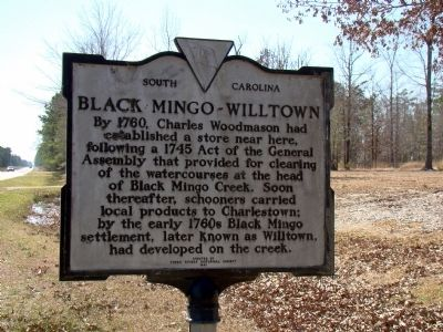 Black Mingo – Willtown Face of Marker image. Click for full size.
