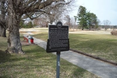 World War I Cantonment Area Marker image. Click for full size.