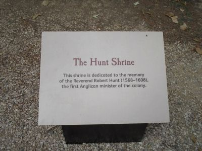 The Hunt Shrine Marker image. Click for full size.