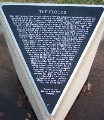 The Floods Marker image. Click for full size.