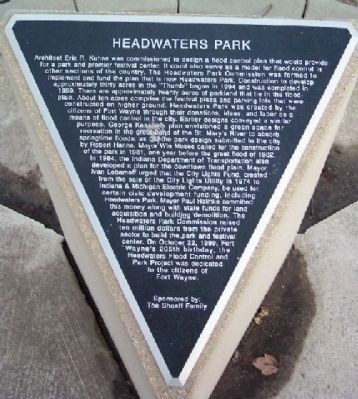 Headwaters Park Marker image. Click for full size.