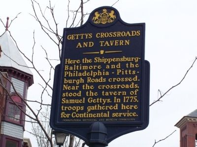 Gettys Crossroads and Tavern Marker image. Click for full size.