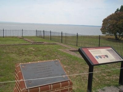 Markers at Historic Jamestown image. Click for full size.