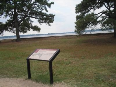 First Landing Marker at Jamestown image. Click for full size.
