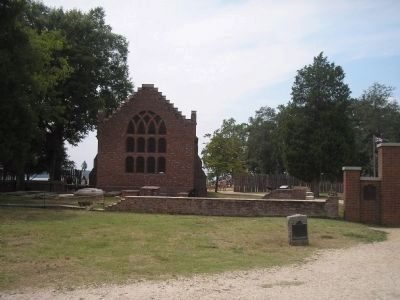 Memorial Church at Jamestown image. Click for full size.