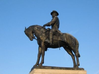 General Howard Equestrian Statue image. Click for full size.