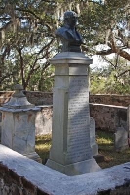 Thomas Heyward Jr. Monument image. Click for full size.