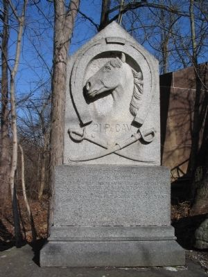 21st Pennsylvania Cavalry Monument image. Click for full size.