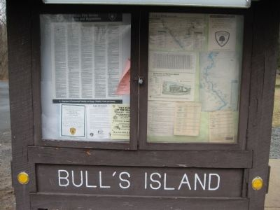 Bull's Island Bulletin Board image. Click for full size.