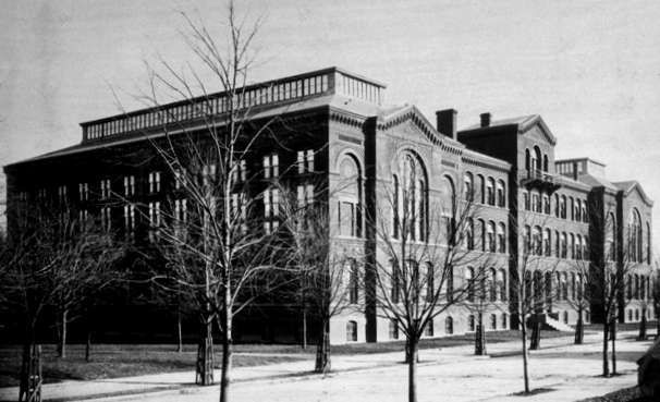 Army Medical Museum and Libary Building (1887-1965) image. Click for full size.