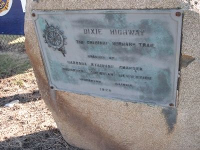 Dixie Highway Marker image. Click for full size.