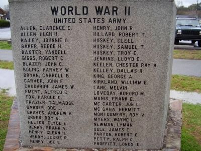 Sevier County Veterans Memorial Marker image. Click for full size.