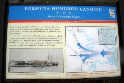 Bermuda Hundred Landing CWT Marker image. Click for full size.