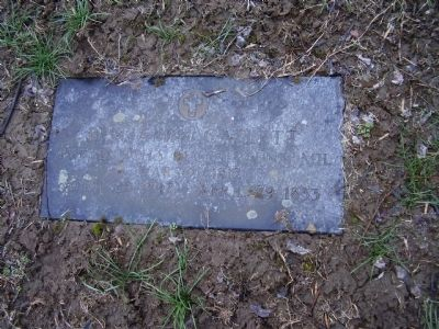 Grave Site at the Cemetery image. Click for full size.