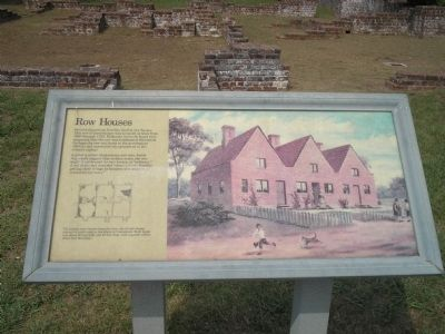 Row Houses Marker image. Click for full size.