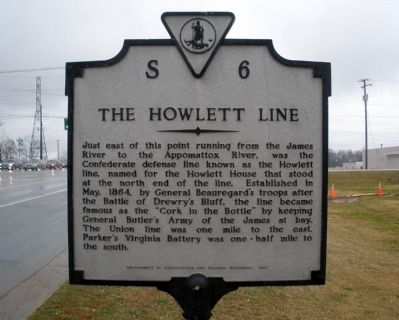 The Howlett Line Marker image. Click for full size.