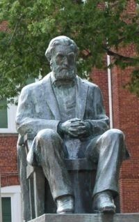 Thomas Green Clemson Statue at Tillman Hall image. Click for more information.